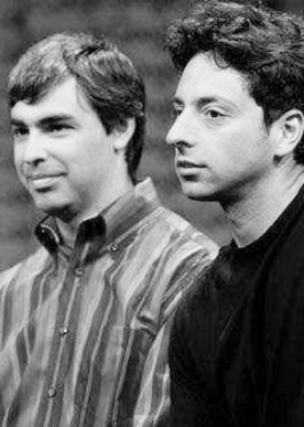 Brin and Pécs Google search engine founders
